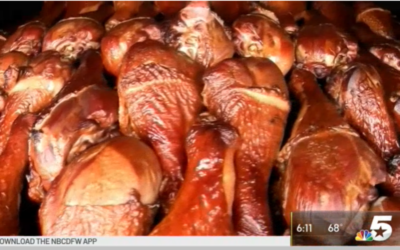 Turkey Leg Fundraiser Aims Help Restock Mansfield Church's Food Pantry
